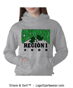 2008 Champion Hoodie (Youth) Design Zoom